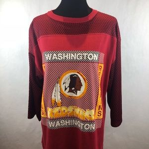 Artex Tops - Vintage WASHINGTON REDSKINS T-shirt Sz Large ed542a99d